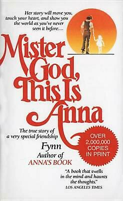 Mister God, This Is Anna by Anna Fynn (English) Mass Market Paperback Book Free