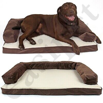 Deluxe Orthopaedic Soft Dog Pet Warm Sofa Bed Cushion Chair Large XLarge Easipet