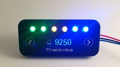 Tracknite Sequential Shift Light , tachometer and battery monitor - Race Car etc