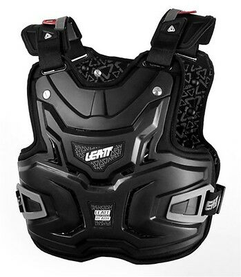 New Leatt Adventure Lite Motocross Mx Offroad Chest Dirt Protector Black Adult