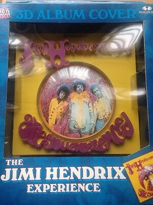 JIMI HENDRIX - Are You Experienced - 3D Album Cover McFarlane Official