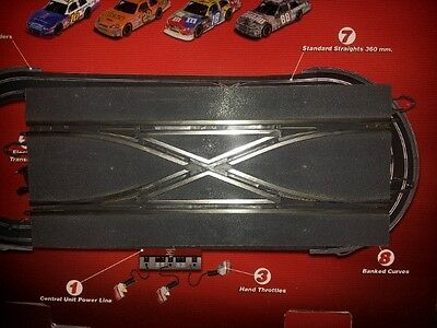 SCX digital Changeover Crossover 360mm Straight Track Well USED