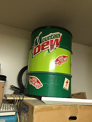 1990'S Mountain Dew Upright  Indoor Beverage Cooler CONVIENCE STORE NEVER USED