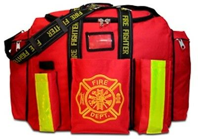 Firefighters Step In Duty Gear Bag, Lightning X Brand, Padded Shoulder Strap
