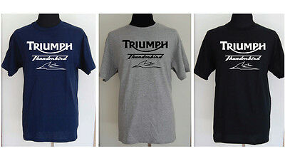 TRIUMPH THUNDERBIRD  T-shirt - Small  to 5XL