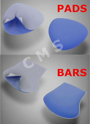LANGER PPT Blue Metatarsal Bars Or Pads Self Adhesive 6 PAIRS Genuine USA New