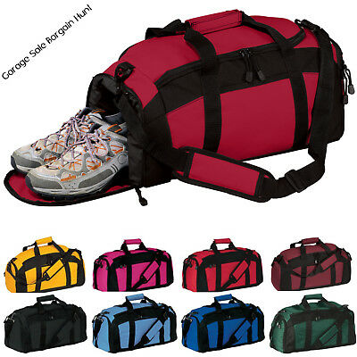 Gym Bag Sports Duffel Workout Travel Carry on Luggage Athletic Overnight Bag e59fe28ab9