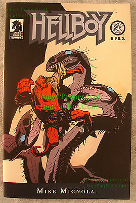 HELLBOY ASHCAN Comic VHTF - King Vold / Hydra / Pancakes Mike Mignola UNREAD