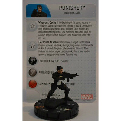 Punisher M15-015 Heroclix