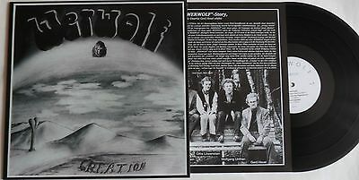 LP WERWOLF Creation - Re-Release - LONG HAIR MUSIC LHC161 - STILL SEALED