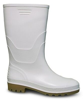 Traxium Womens White Gumboots - New with Tags