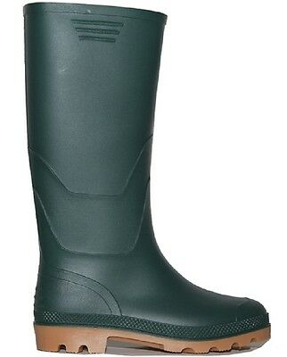 Traxium Womens Green Gumboots - New with Tags