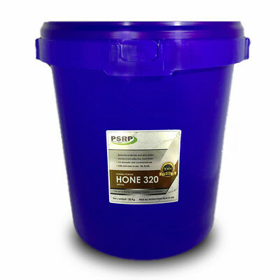 PSRP Hone 320Grit 20KG Honing, Cleaning Powder for Travertine, Marble, Limestone