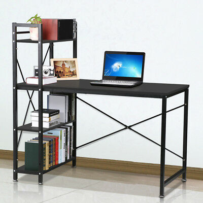 Study PC Workstation Computer Office Desk Laptop Home Table Furniture