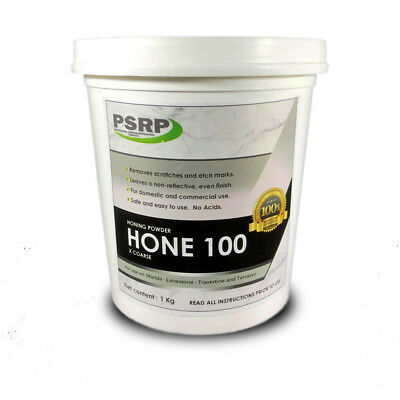 PSRP Hone 100Grit 1KG Honing / Cleaning Powder for Travertine, Marble, Limestone