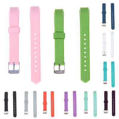 Replacement Soft Silicone Wrist Watch Band Classic Strap Buckle for Fitbit Alta