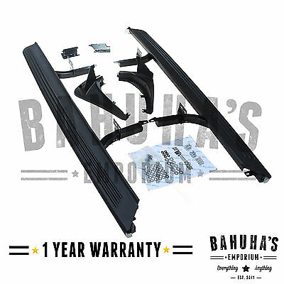 Side Steps Running Boards+Mud Flaps For A Range Rover Vogue L322 2002>2012