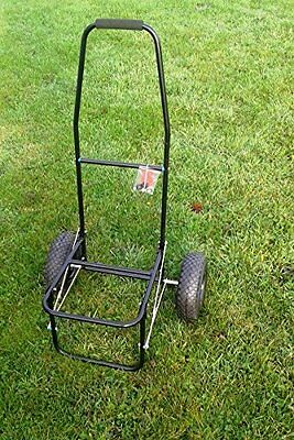 Classic Coarse / Carp Fishing Trolley With Pneumatic Tyres