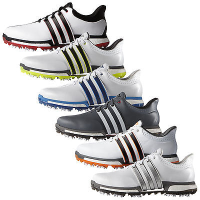 Adidas Mens Tour360 Boost Golf Shoes -New Wide Fit Waterproof Leather Sizes 2016