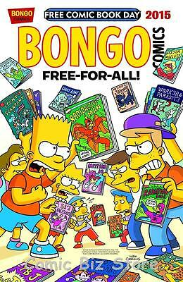 Bongo Free For All Fcbd  (2015) Sold Out 1St Printing! Bagged & Boarded