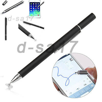 Fine Precision Round Capacitive Touch Pen Stylus For iPhone iPad Samsung Tablet