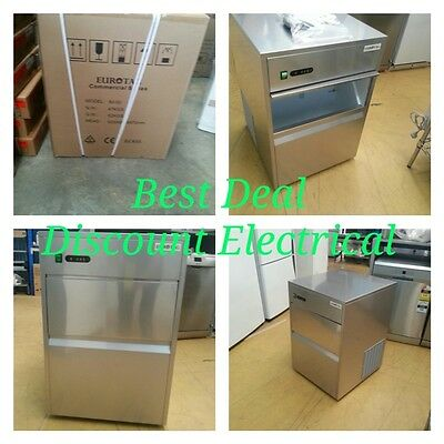 ICE MAKER Commercial ICE MAKER / MACHINE 50KG 24h 13KG ICE STORAGE WE OPEN 7DAYS