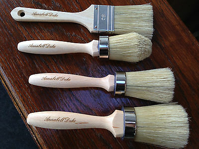 Shabby Chic Annabell Duke Furniture Chalk Paint And Wax Brushes 4 To Choose