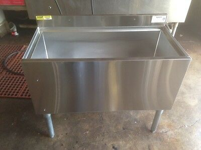 """36"""" Underbar Ice Well Insulated with Cold Plate Krowne"""
