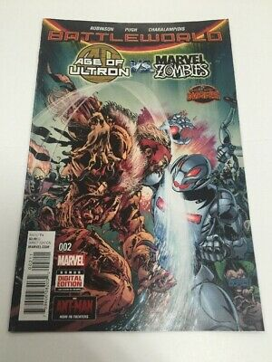 Battleworld Age Of Ultron vs Marvel Zombies #2 Marvel Comic Book Unread