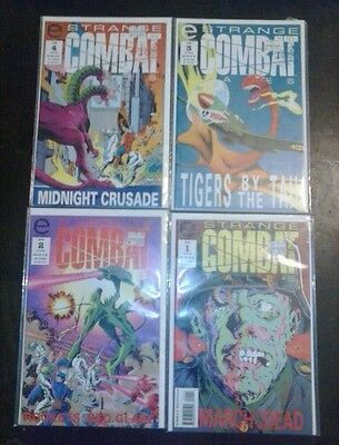 STRANGE COMBAT TALES #1 #2 #3 #4 1993 full set complete lot 6.0 to 8.0 condition