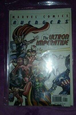 Avengers The Ultron Imperative #1 2001 Marvel Comics 2 movie age of cool