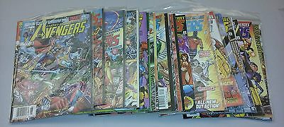 Avengers comics lot volume 3 #7-33 & annual 99 run age of ultron unleashed movie