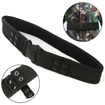 Heavy duty Security Guard Paramedic Army Police Utility Belt Quick Release