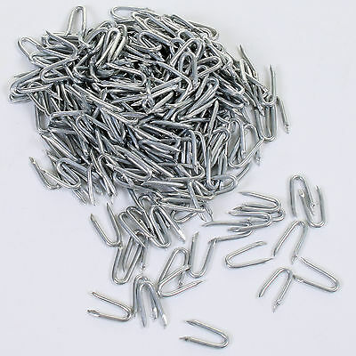 Galvanised U Nails Netting Staples Fencing Post Chicken Wire Mesh 20mm/25mm/30mm