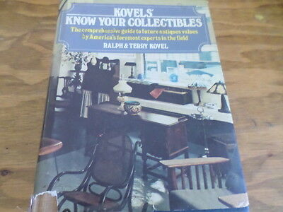 Kovels Know Your Collectables 1st Edition (Hardcover 1981) Free Domestic Ship