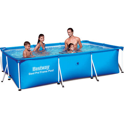 Bestway Frame Pool Swimming Pool Steel Wall Frame Swimmingpool Steel Pro 56411