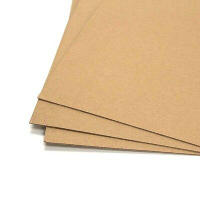 "Corrugated Cardboard Pads 12.5"" & 7.5""  Paper Inner Sleeves for 45 RPM 7"" & 12"""