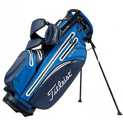 New 2016 Titleist Sta Dry Stand Bag Royal Blue Navy White