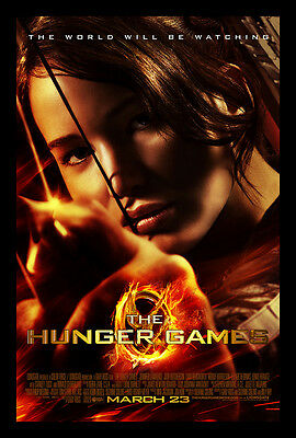 Home Wall Art Print - Vintage Movie Film Poster - THE HUNGER GAMES - A4,A3,A2,A1
