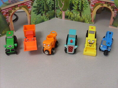 Brio Bob The Builder Wooden Track And Vehicles Selection