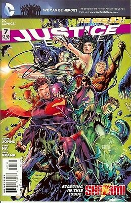 Justice League #7 Signed Jim Lee Dc New 52
