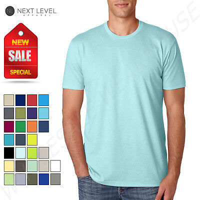 NEW Next Level Men's Premium Fitted CVC Crew  XS-XL T-Shirt R-6210