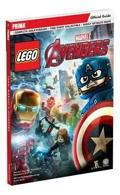 Lego Marvel's Avengers Standard Edition Strategy Guide by Prima Games Paperback