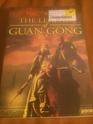 The Legend of Guan Gong (6-DVD) Brand New And Authentic Region 1