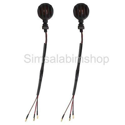 2x Motorcycle Scooter Turn Signal Bulb Indicators Blinkers Lights Lamp