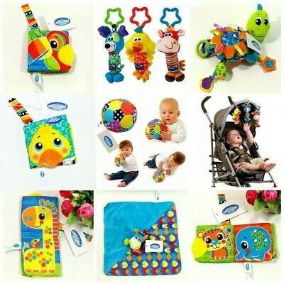 Baby Children Kids Playgro Rattle Flutter Soft Stuffed PlayMat Stroller Crib Toy