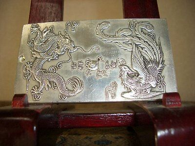 Silver colored Chinese amulet(136)