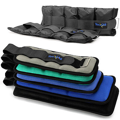 Yes4All Wrist Ankle Weights Set Leg Weight Comfort Fit Outdoor Workout Training