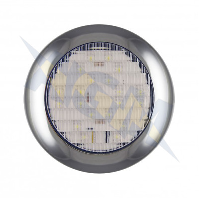 LED Autolamps 145WME Round Surface Mount Reverse Lamp, 12-24v