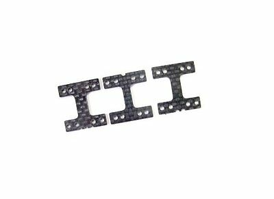 3Racing KM-009 Chassis Graphite H Plate Set For Kyosho Mini-Z MR01